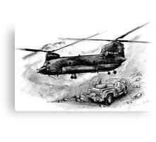 Chinook Helicopter Canvas Print