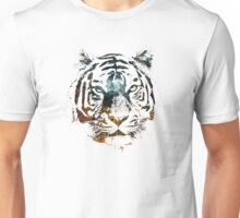 Tiger Cool Chill Space Modern Street Art Unisex T-Shirt