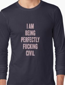 The Raven Boys Ronan quote Long Sleeve T-Shirt