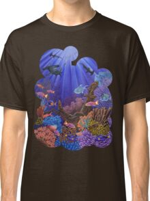 Underwater coral reef Classic T-Shirt