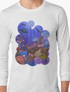 Underwater coral reef Long Sleeve T-Shirt