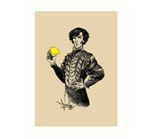 Not Sure if the Lemon is in Play?! Art Print