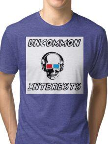 Uncommon Interests Logo 3 Tri-blend T-Shirt