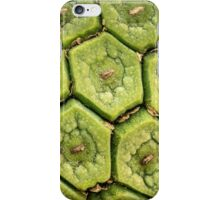 Monstera fruit in macro iPhone Case/Skin