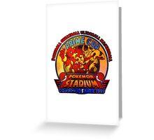 POKEMON STADIUM 1999 Greeting Card