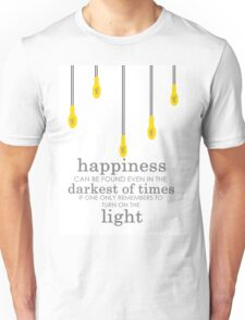 happiness // albus dumbledore Unisex T-Shirt