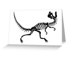 Dilophosaurus Greeting Card