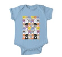 Only A Glaring Of Cats One Piece - Short Sleeve