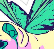 butterfly pug Sticker