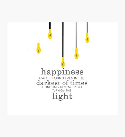 happiness // albus dumbledore Photographic Print