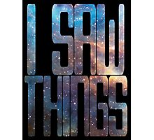 I saw things . I've seen things you people wouldn't believe - Blade Runner Photographic Print