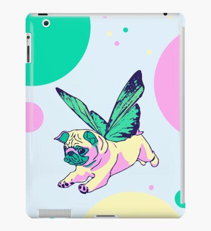 butterfly pug iPad Case/Skin