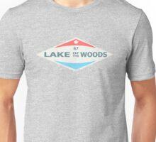 LAKE OF THE WOODS RETRO TSHIRT Unisex T-Shirt