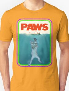 Paws Jaws Movie parody T Shirt T-Shirt