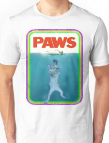Paws Jaws Movie parody T Shirt Unisex T-Shirt