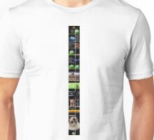 A Take on the Scrolling Meme (See Artist notes for LARGE version with Readable Text) Unisex T-Shirt