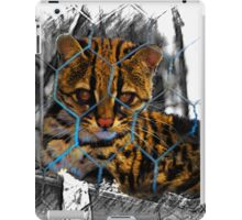 Baby Ocelot At Amaru iPad Case/Skin