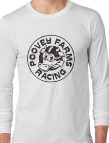 Poovey Farms Racing Long Sleeve T-Shirt