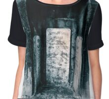 A nook to be remembered in. Chiffon Top