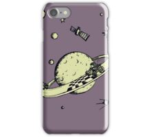 Space race v2 iPhone Case/Skin