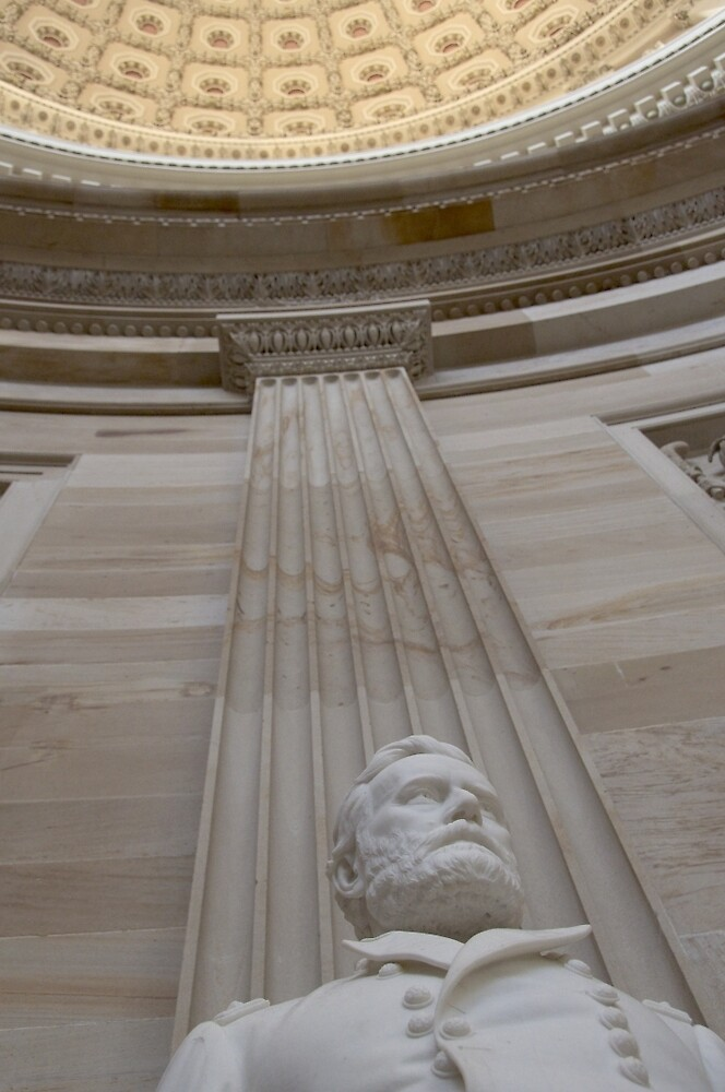 Gen. Ulysses S. Grant - The Capitol by Morag Anderson