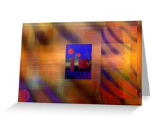 Theoretical colors conspiracy Greeting Card
