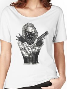 Marilyn Monroe 'Gangstified' Women's Relaxed Fit T-Shirt
