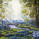 """Bluebell Heaven"" - Oil painting by Avril Brand"
