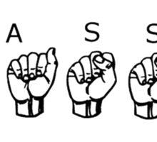 YASSS Sticker