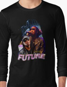 FUTURE VINTAGE TEE HIPHOP Long Sleeve T-Shirt