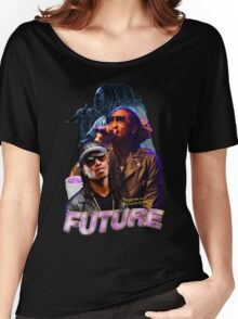 FUTURE VINTAGE TEE HIPHOP Women's Relaxed Fit T-Shirt