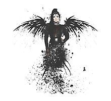 The Raven Queen Photographic Print