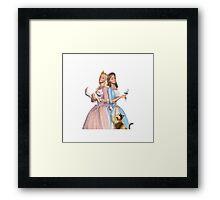 Barbie Princess and the Pauper Framed Print