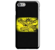 Yellow Dragon iPhone Case/Skin