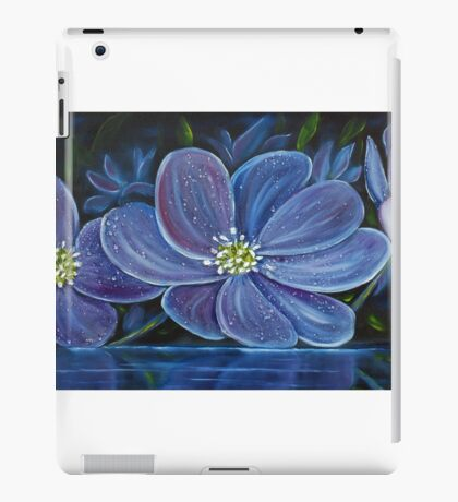 Flower Pool - Oil Painting iPad Case/Skin
