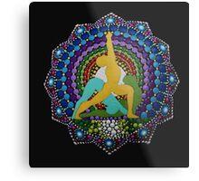 Ashtanga yoga dot art photography Metal Print