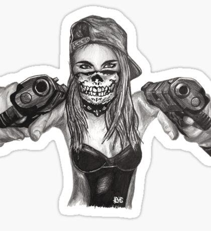 "Cara Delevingne ""Gangstified"" Sticker"