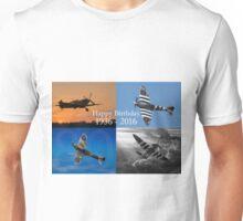 Happy Birthday Spitfire Unisex T-Shirt