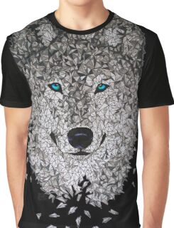 Vector Wolf Graphic T-Shirt