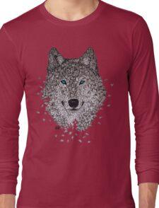 Vector Wolf Long Sleeve T-Shirt