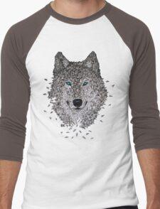 Vector Wolf Men's Baseball ¾ T-Shirt