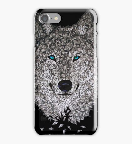 Vector Wolf iPhone Case/Skin