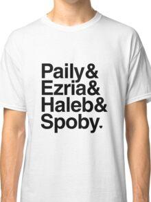 PLL Ships - black text Classic T-Shirt