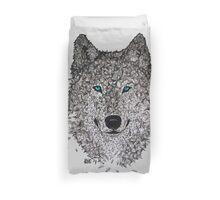 Vector Wolf Duvet Cover