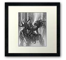 Dragon - Magic of Mist Framed Print