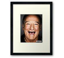 RIP ROBIN WILLIAMS Framed Print