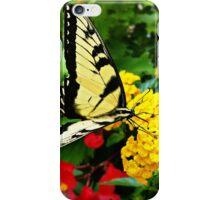 Yellow Swallowtail iPhone Case/Skin