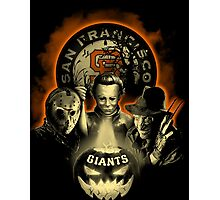 San Francisco Giants Halloween T-shirt  Photographic Print