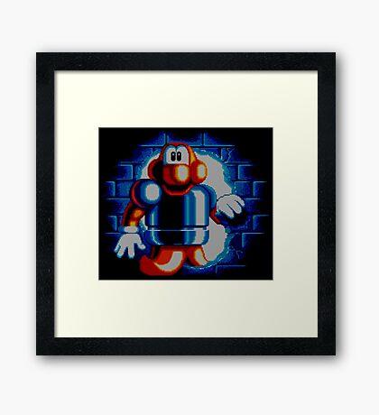 JAMES POND - CODENAME: ROBOCOD Framed Print