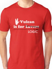 Vulcan is for Lovers (not Really) Unisex T-Shirt